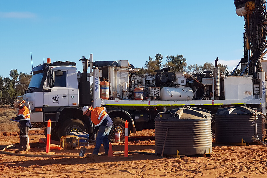 Diamond Core Drilling Mineral Exploration - MJ Drilling