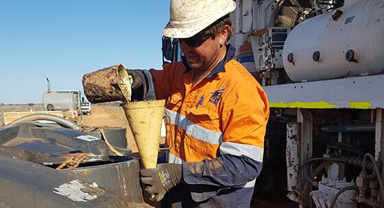 Drilling Rig Maintenance - MJ Drilling