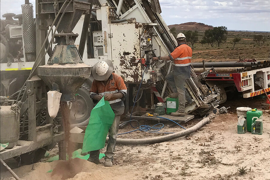 Mineral Exploration Experience Capability - MJ Drilling