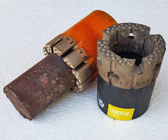 Diamond Core Drill Bit - MJ Drilling