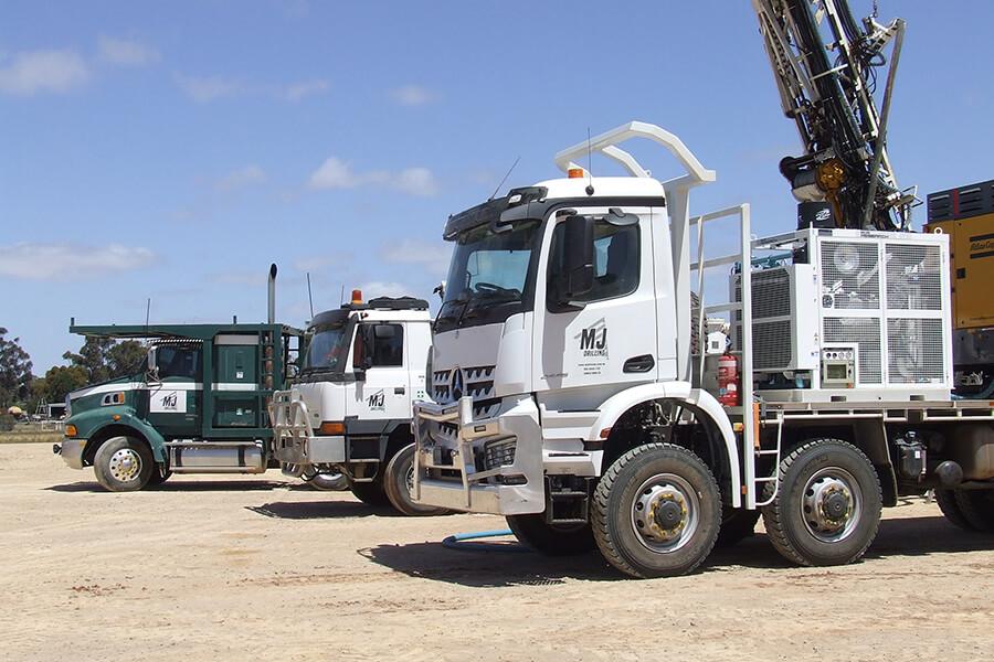 Drilling & Mineral Exploration Fleet South Australia
