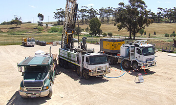 Mineral Exploration RC Drilling Rigs