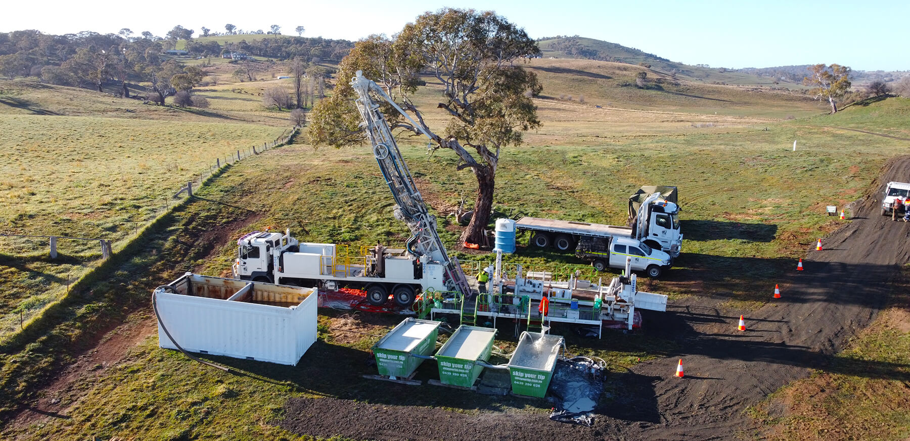 DJ Drilling Mineral Exploration South Australia