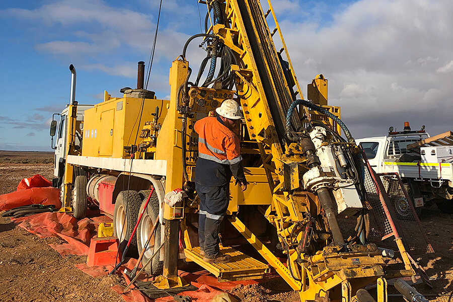 Diamond Core Drilling with Rig 2